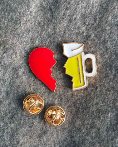 Pin's Love Beer