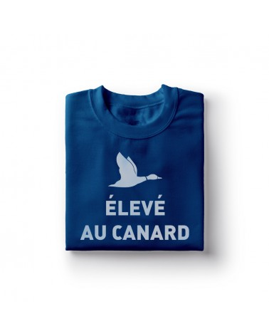 Sweat Shirt Élevé au canard