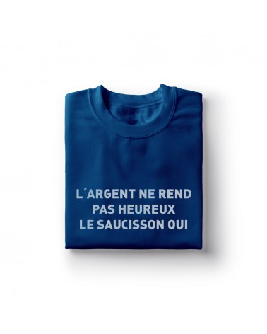 Sweat shirt L'argent & le Saucisson