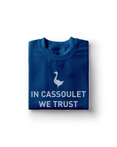 Sweat Shirt In Cassoulet we Trust