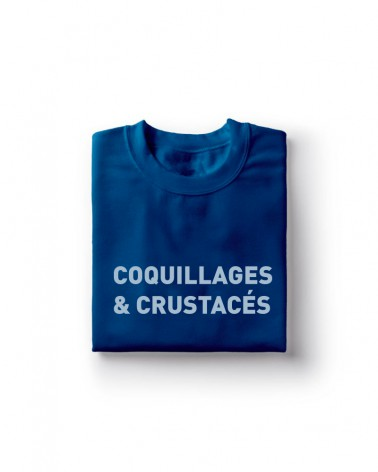 Sweat Shirt coquillages & crustacés